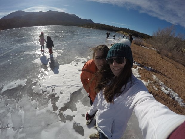 Frozen Lake @ Pike's Peak