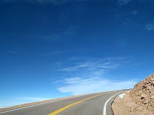 Pike's Peak: The edge of the world!