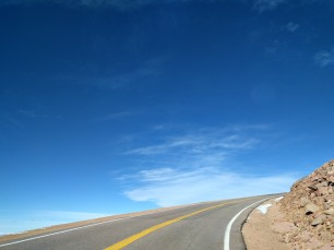 Pike's Peak: The edge of the world!