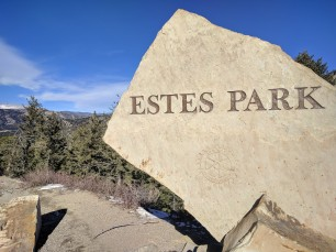 Welcome to Estes Park and lots of WIND!