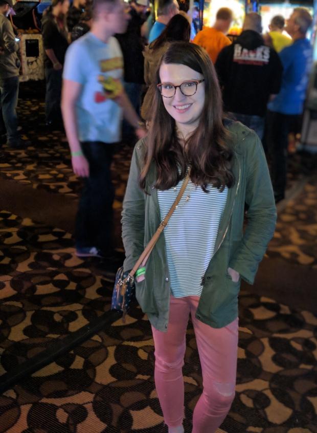 Me @ Arcade Expo